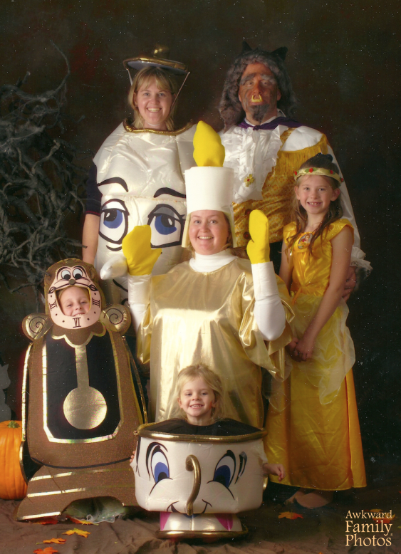 Halloween Family Photo